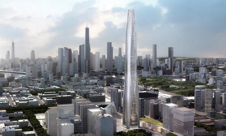 Tianjin Chow Tai Fook Finans Merkezi