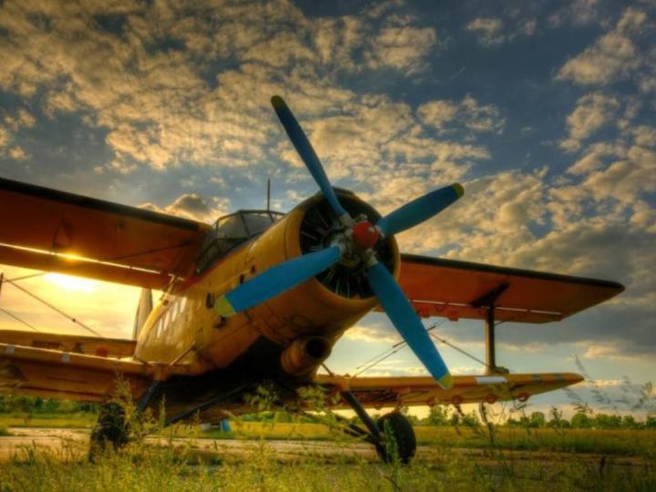 İlk Motorlu Uçak