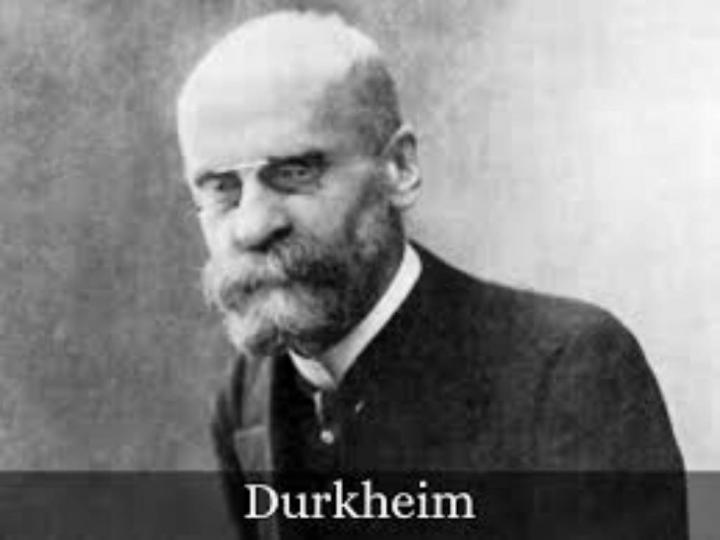 Emile Durkheim ve Sosyoloji