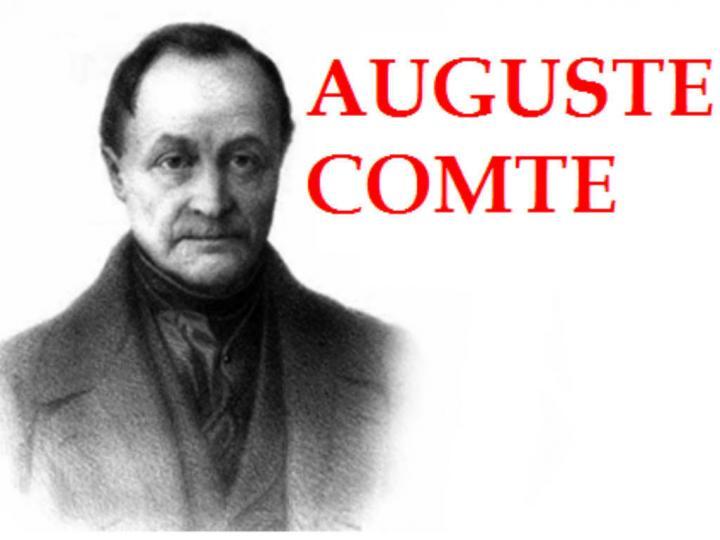Sosyolojinin kuruluşu ve Comte