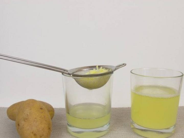 Patates Suyu Yapımı